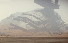 You can get a sense of just how large a Star Destroyer is thanks to Facebook's new 360-degree videos.