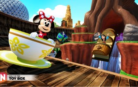 Disney Infinity's Toy Box throws everything Disney into an imaginative sandbox.