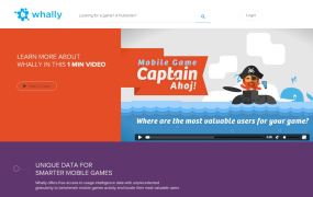 Whally offers a new approach to mobile game intelligence.