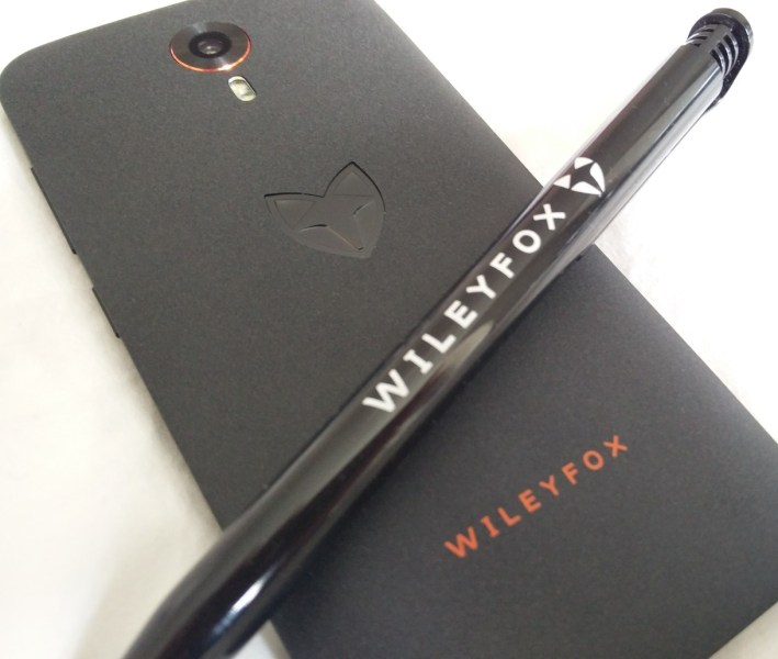 Wileyfox Swift: Rear view