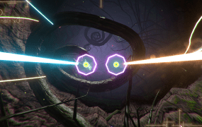 Human memories take mesmerizing form as shapes and sounds in LaserLife.