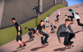 Tony Hawk and friends!