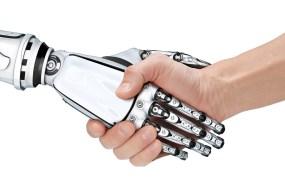 human robot handshake