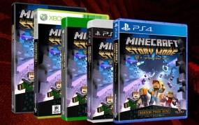 Minecraft: Story Mode.