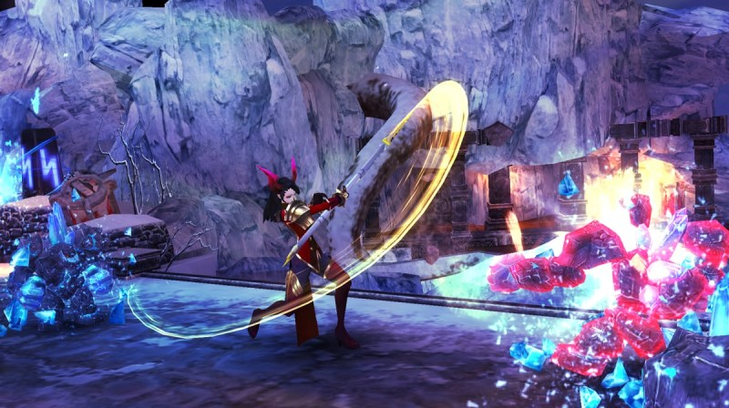 nWay has both 2D side-scrolling and 3D gameplay.