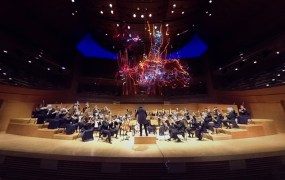 LA Philharmonic Orchestra performs Beethoven's Fitfh Symphony