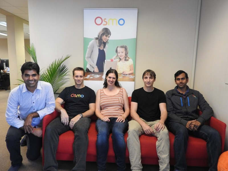 The Osmo Numbers team, with CEO Pramod Sharma on the far left. Others are Henry, Rachel, Tony and Vivardhan.