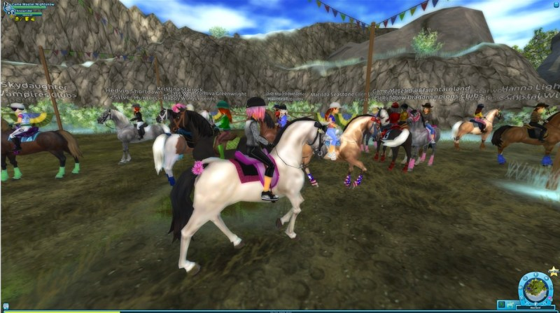 Now that's a horse party in Star Stable.