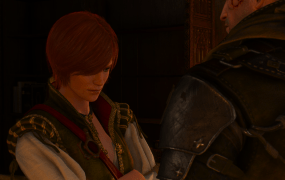 Shani, one of the most memorable characters from the first Witcher, makes a return in Hearts of Stone.