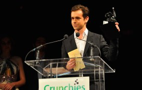 SAN FRANCISCO, CA - JANUARY 31:  Jack Dorsey accepts an award onstage at the 5th Annual Crunchies Awards at Davies Symphony Hall on January 31, 2012 in San Francisco, California.  (Photo by Steve Jennings/Getty Images for TechCrunch)