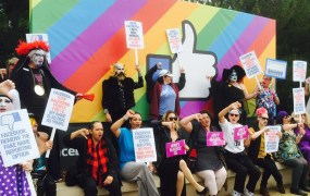 FB-protest