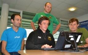 Jamie Elliot is one of the Northampton Saints players using brain-training games as part of this season's training regime.