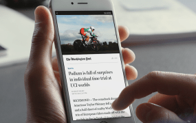 An image of a Facebook Instant Article from The Washington Post.