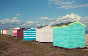 Studies show that diversity improves performance of human teams. Not sure about beach huts, though.