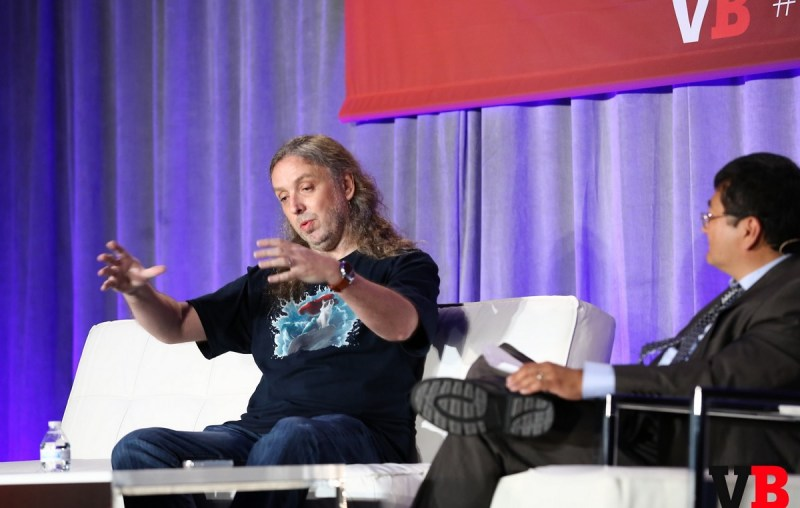 """Graeme Devine of Magic Leap prefers the term """"mixed reality"""" instead of """"augmented reality."""""""