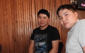 Alexey Ushnisky (left) , CEO of MyTona, and his twin brother  Afanasiy Ushnisky, chief operating officer.