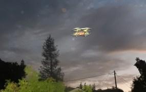 Parrot Airborne Night Minidrone.