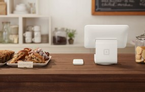Square card reader and stand
