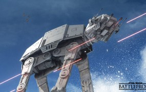 Star Wars: Battlefront in action.