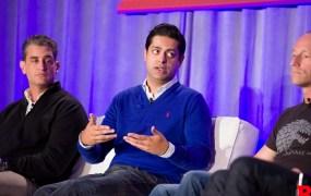 Venture capitalists Jason Kay, Sunny Dhillon, and Phil Sanderson speak on a panel at GamesBeat 2015.