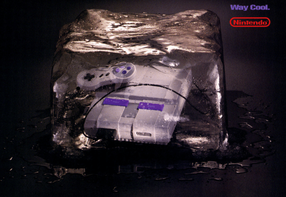 One of Nintendo's many Super NES promotional ads.