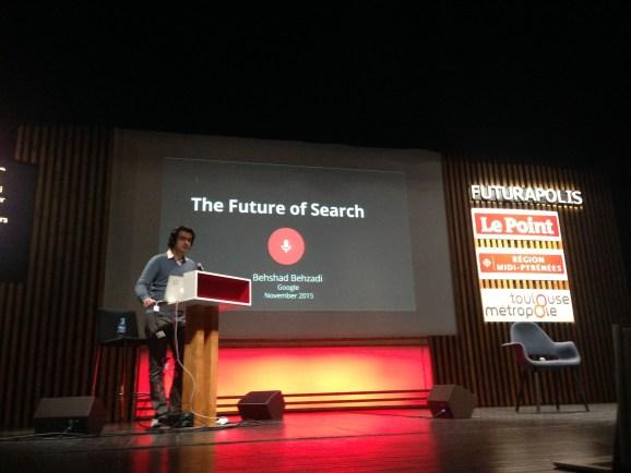 Behshad Behzadi, director of search innovation at Google's Zurich lab.