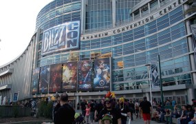 Thousands of hardcore fans traveled  to Anaheim for BlizzCon.