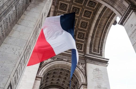 French Flag - Arc de Triomphe