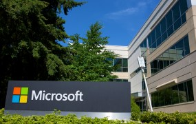A building on the Microsoft Headquarters campus is pictured July 17, 2014 in Redmond, Washington. Microsoft CEO Satya Nadella announced, July 17, that Microsoft will cut 18,000 jobs, the largest layoff in the company's history.