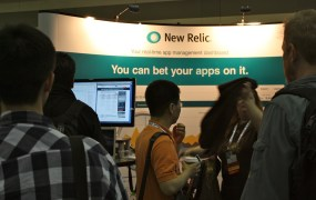 New Relic Booth