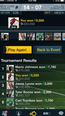 JetBet lets you bet on sports games in real-time.