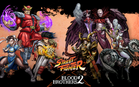 Street Fighter X Blood Brothers 2