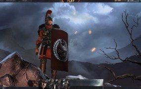 A Roman commander in Total War: Arena.