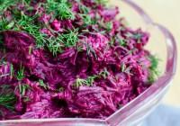 Beet Salad/ Russian Beet Salad/ Vera's Cooking/ Verascooking.com/