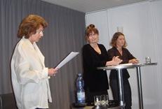 Вера Зубарева на чтениях в Цюрихе