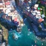 【チンクエテッレ×ドローン空撮】イタリアの可愛いすぎる村