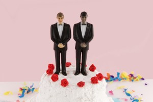 Same-Sex Wedding Cake