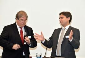 Versicherungsmonitor-Herausgeber Herbert Fromme im Gespräch mit Marc Rindermann, Chef von Assfinet und Acturis Deutschland