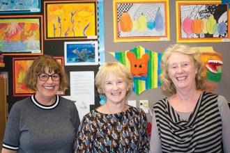 Jan Melbourne, Rosemary Gormack and Lesley Gardner