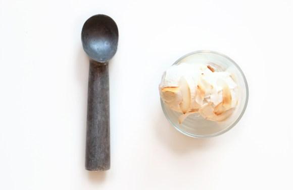 glace au lait de coco