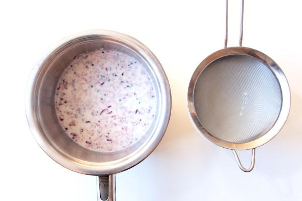 Tarte hibiscus et grenade - infusion
