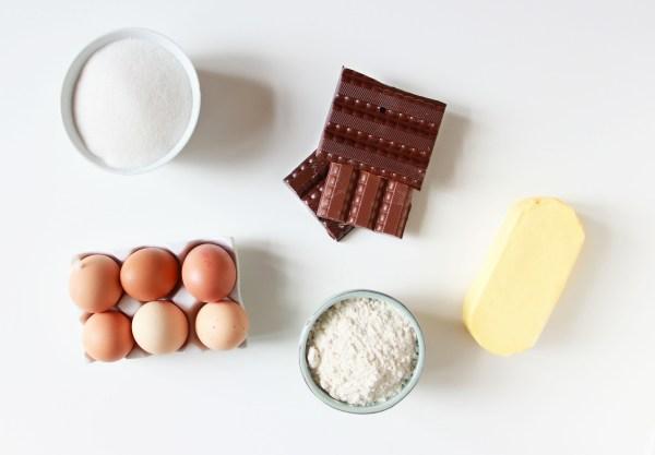 gâteau au chocolat meringué - ingrédients