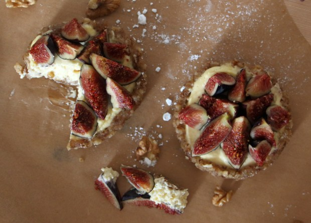 tarte figue noix et figue raw fig tart