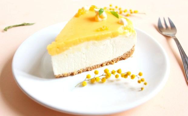 cheesecake à la mandarine et yaourt grec