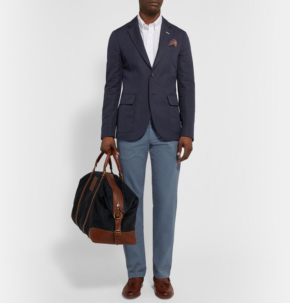 blazer bleu pantalon bleu