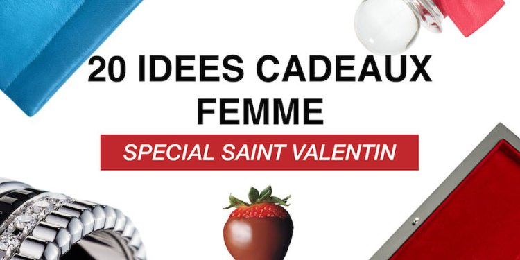 20 idées cadeaux saint valentin femme