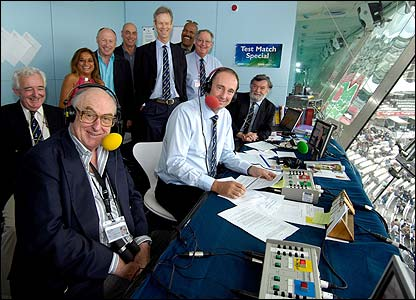 Tuning In  Test Match Special on BBC Radio 5 Live Sport Extra   Very     Photo  BBC