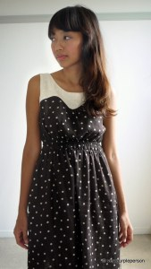 Dotty Leia dress