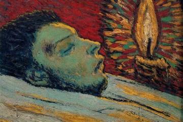 """""""Casamegas'ın Ölümü"""", Picasso, 1901."""