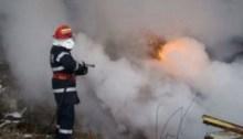 grajd incendiu pompieri